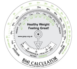 Body Mass Index Calculator (Pack of 5)