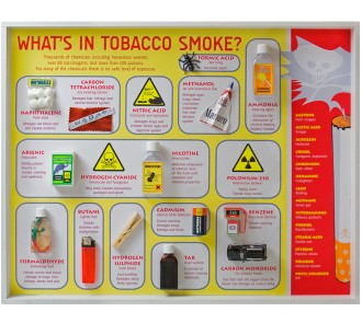 What's in Tobacco Smoke? Display