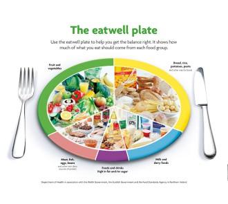 Eatwell Chart (A2 Laminated Chart)