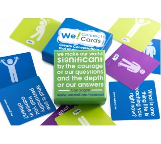 We! Connect Cards - Create Conversations That Matter