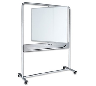 Nobo Magnetic Steel Mobile Whiteboard