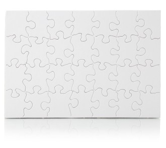 Blank Jigsaw - 28 piece (Pack of 24)