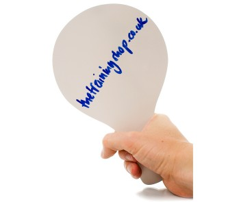 Whiteboard Paddle (Pack of 12)