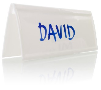 Reusable Name Tents (Pack of 15)