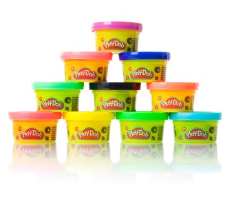 Play Doh Mini Tubs (Pack of 10)