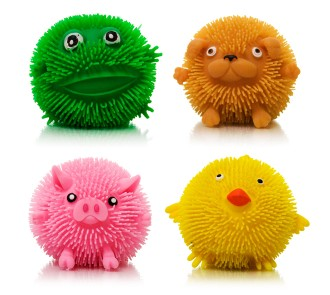Puffy Animals (Pack of 4)