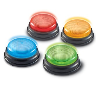 Light and Sound Buzzers (Set of 4)