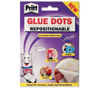 Glue Dots - Repositionable