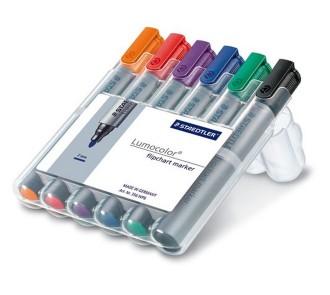 Staedtler Flipchart Markers (Pack of 6)