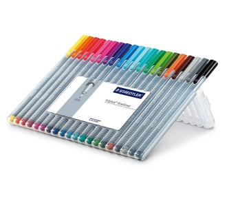 Staedtler Fineliner pens (Pack of 20)
