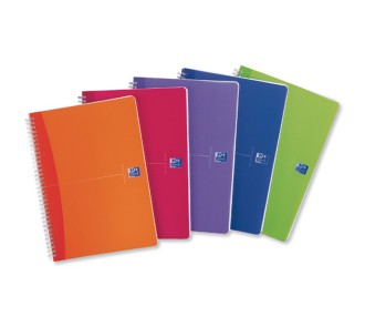 Notebook A5 Plastic Cover