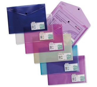 Plastic Wallet (Pack of 5)