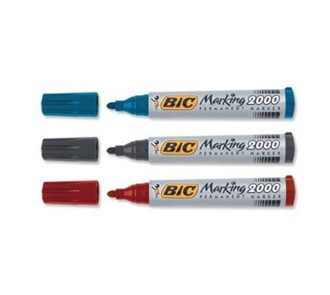 BIC Marking Permanent Markers (Pack of 12)