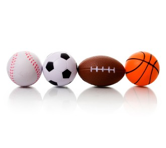 Sports Stress Balls (Pack of 4)