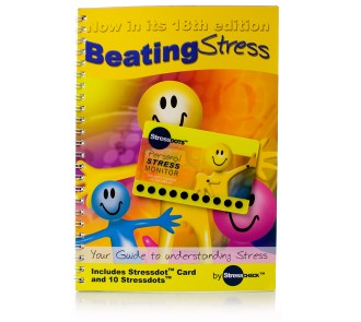 Beating Stress Book and Stress Dot Card
