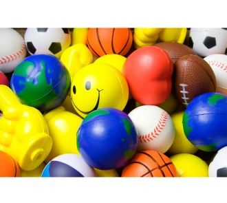 Assorted Stress Balls (Pack of 10)