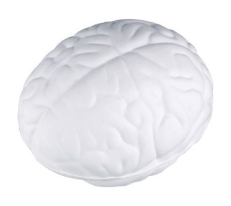 Brain Stress Ball (White)