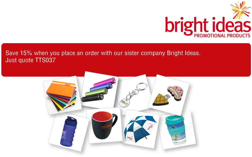 bright ideas promotional merchandise
